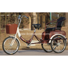 Steel Alloy Adult Tricycle for Old Men