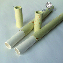 Disposable carft recycled paper tube packaging