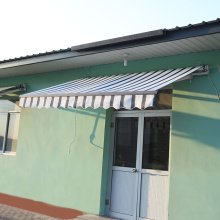 Retractable arms awning 1.8*1.2M Green
