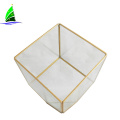 Wedding Decor Hanging Plant Glass Cube Terrarium Vase