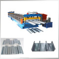 Floor bearing plate roll forming machine