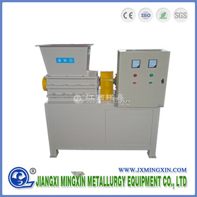 Two Shaft Shredder Machine for Paper and Plastic Bottle