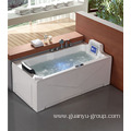 Luxury Single Whirlpool With TV Massage Bathtub
