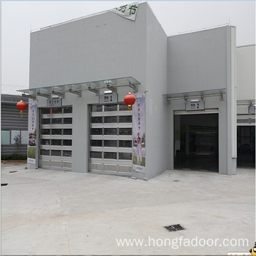 Good Quality for Industrial Warehouse Sectional Door Overhead Cheap Glass Garage Doors supply to Netherlands Antilles Importers