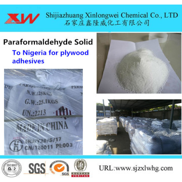 Paraformaldehyde 96% Granule Reaction
