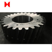 cast steel spur gear with forging