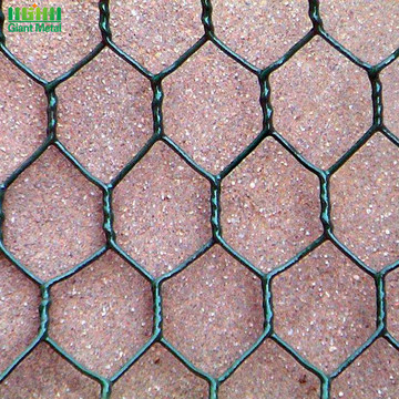 Double Twist Hexagonal Hole Shape Application Gabion Wall