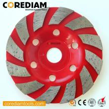 China for China Manufacturer of Grinding Cup Wheel, Diamond Grinding Wheels, Silicon Carbide Grinding Cup Wheel, Abrasive Stone Cup Grinding Wheel, High Performance Grinding Cup Wheel 150mm Sinter Stone Turbo Cup Wheel export to United States Manufacturer