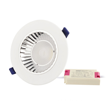 High Power COB 20W aliminyòm dirije Downlight