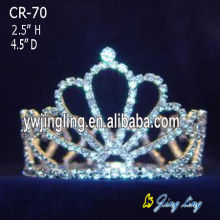 Rhinestone Full Round Large Princess King Crowns