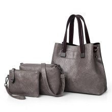 shoulder bag custom high quality leather women handbag