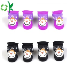 Newest 3D Comfortable Winter Silicone Pet Dog Shoes