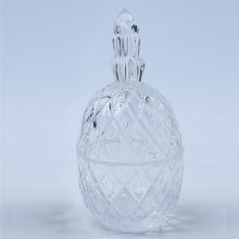 Pineapple Shape Handmade Glass Salt And Pepper Shaker