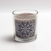 Decorative Customizable Logo Coconut Srtongly Smells Luxury Candles