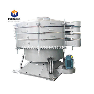large capacity kaolin vibrating sieve tumbler screen