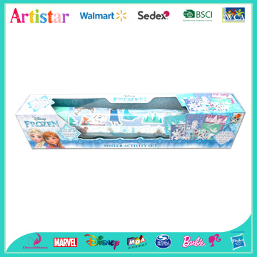 Disney Frozen poster activity set