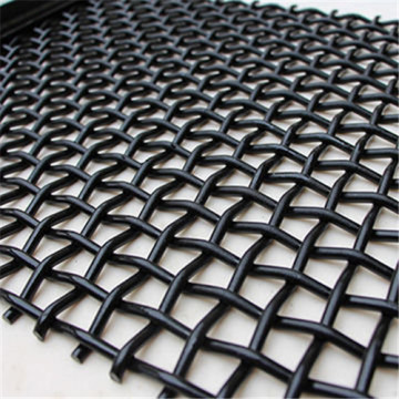 Woven Crimped Wire Vibrating Screen Mesh For Mining