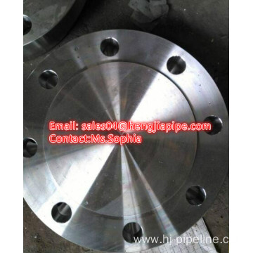carbon steel forged blind flange RF ANSI B16.5