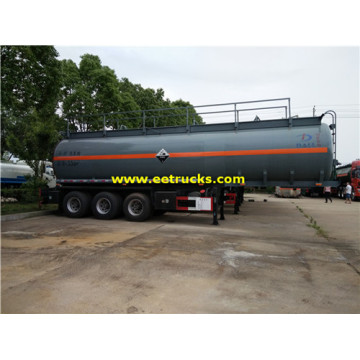 36T 34000L Glacial Acetic Acid Tank Trailers