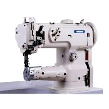 Single Needle Compound Feed Cylinder Bed Sewing Machine with Large Hook