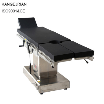 Emergency Room Equipment Surgical Electric Operating Table