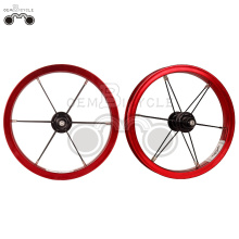 Red 6061 alloy rim 12H 12inch wheel set
