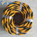 High quality black yellow  tiger rope