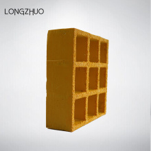 38mm Yellow Color Thickness Molded FRP Grating
