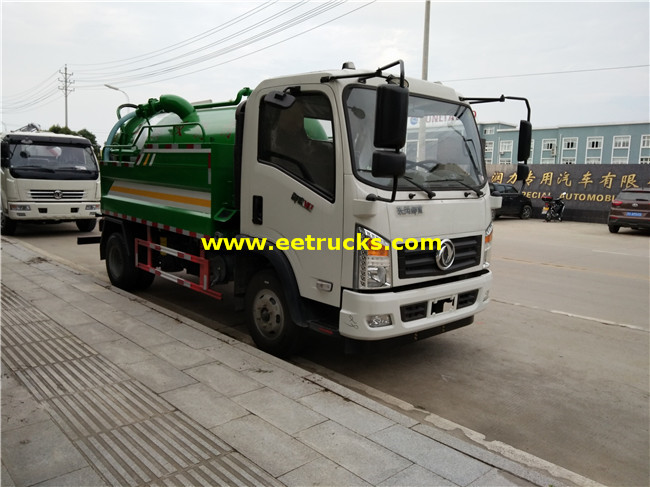 Dongfeng Vacuum Fecal Suction Trucks
