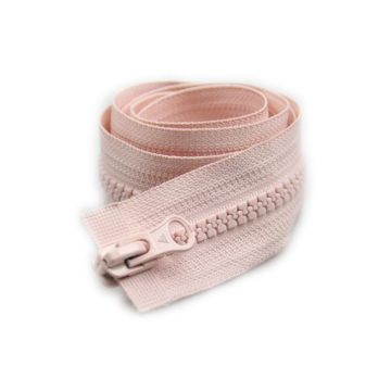 Hot sale 11inch long plastic zipper for jersey