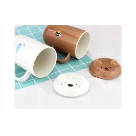 Creative Bear Shape Ceramic Cup For Sale