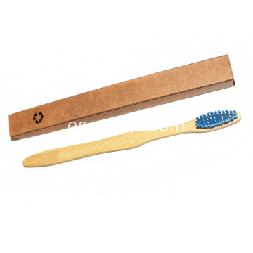 Logotipo personalizado Biodegradable Bamboo Eco Toothbrush