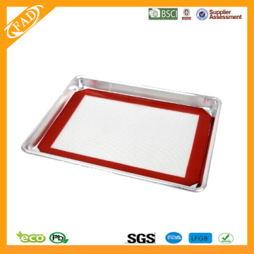 Good Quality for Silicone Cooking Mat Non-Stick Food Grade Bakeware Silicone toaster oven sheet supply to Congo, The Democratic Republic Of The Exporter