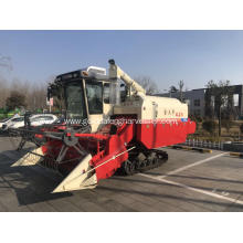 Crawler Paddy Rice Mini Combine Harvester