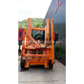Tractor Mounted Pile Driver for Road Barriers