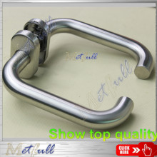 Stainless Steel Safety Hollow Handle On Oval Rose