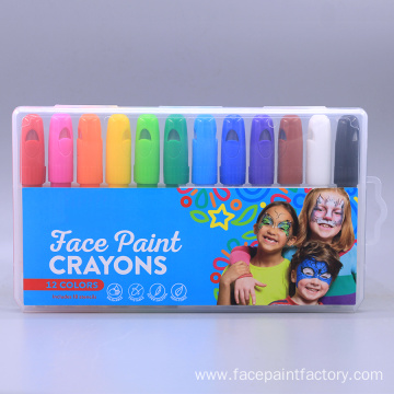 Non-toxic Washable Twistable Face Paint Crayons Stick