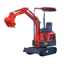 1 ton crawler mini excavator prices