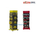 Custom Heavy Duty Tool Metal Rolling Display Stand
