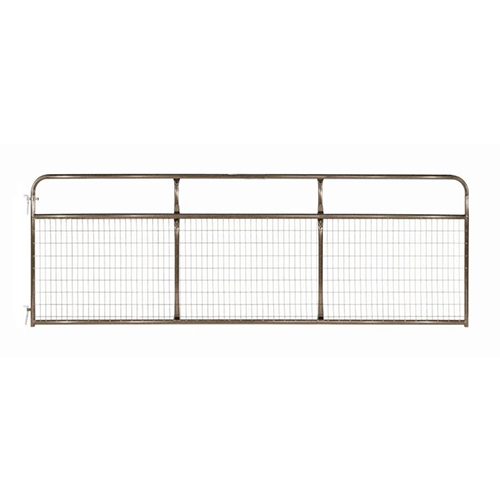Strong Galvanized Steel Farm Gate For Livestock Farm
