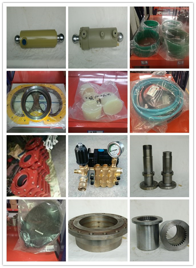 zoomline concrete pump wear parts