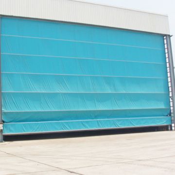 Factory high speed stacking up hangar door