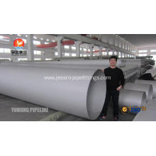 Discount Price for Welded Stainless Steel Coil Pipe ASME SA358 / ASTM A358 TP347/347H Stainless Steel Welded pipe export to Bouvet Island Exporter