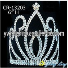 6 Inch Wholesale Glitz Pageant Crowns