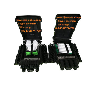 FTTH Drop Cable type Fiber optic Splice  Splitter Closure