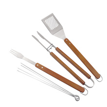 7pcs professional grade stainless steel bbq tools set