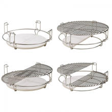 Universal Grill Cooking Grates For Kamado BBQ