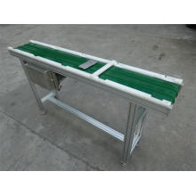 Mini Green PVC Belt Conveyor for Sale