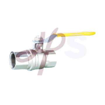 Brass Gas Ball Valve with long steel Handle/En331 Standard