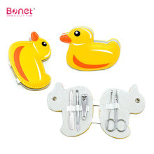 Cute Animal Yellow Duck Shape Manicure Set